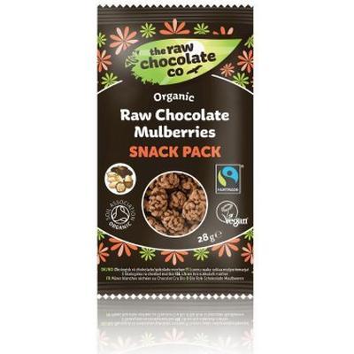 Raw Chocolate Mullbär Snack Pack 28 g
