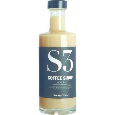 Nicolas Vahé Coffee Syrup with Vanilla 25cl