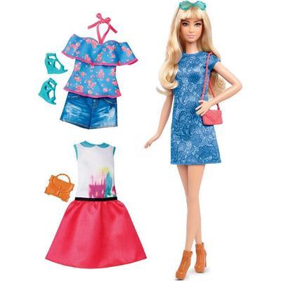 Mattel Barbie Fashionistas 43 Lacey Blue Doll & Fashion Tall
