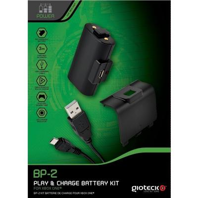 Gioteck BP-2 USB Play and Charge Battery Kit (Xbox One)