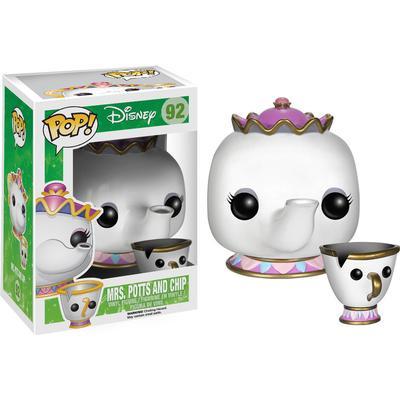 Funko Pop! Disney Mrs Potts & Chip