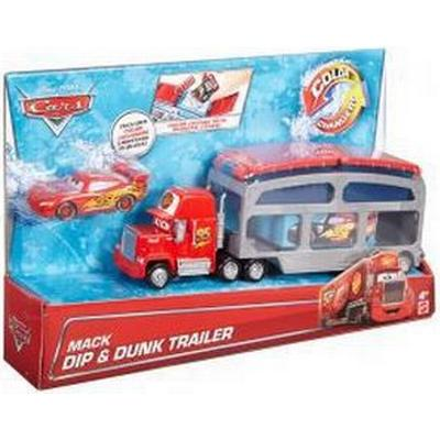 Mattel Disney Pixar Cars Mack Dip & Dunk Trailer