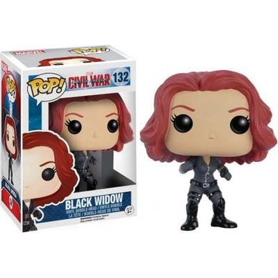Funko Pop! Marvel Captain America 3 Civil War Black Widow