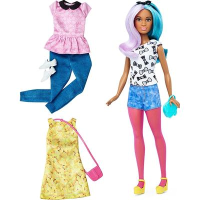 Mattel Barbie Fashionistas 42 Blue Violet Doll & Fashions Petite