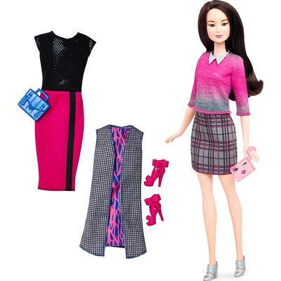 Mattel Barbie Fashionistas 36 Chic with a Wink Doll & Fashions Original