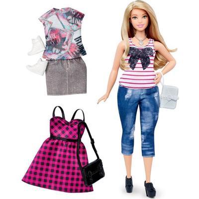 Mattel Barbie Fashionistas 37 Everyday Chic & Fashions Curvy Doll