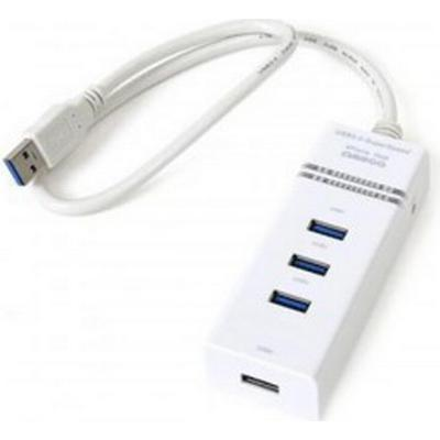Omega OUH34W 4-Port USB 3.0/3.1 Extern