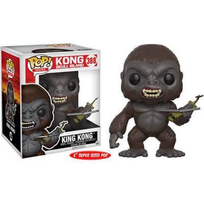 "Funko Pop! Movies Kong Skull Island King Kong 6"""