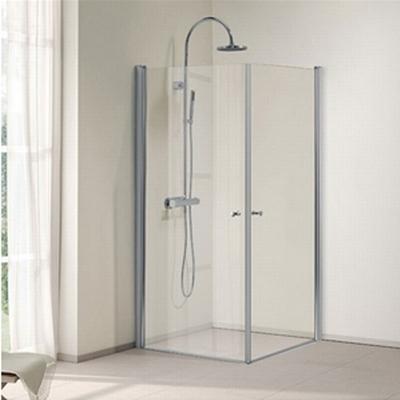 Bathlife Ideal Lige Duschhörna 900x900mm
