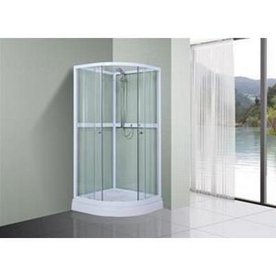 Bathlife Ideal Round Duschkabin 900x900mm