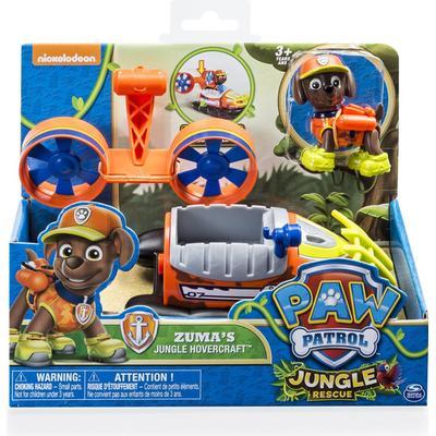 Spin Master Paw Patrol Jungle Rescue Zuma's Jungle Hovercraft