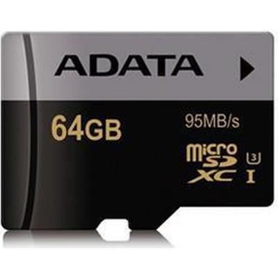 Adata Premier Pro MicroSDXC UHS-I U3 95MB/s 64GB
