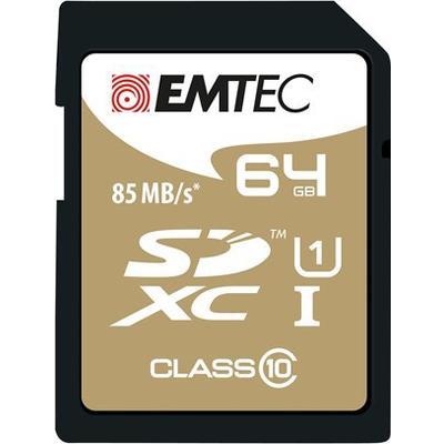 Emtec Gold Plus SDXC UHS-I U1 85MB/s 64GB