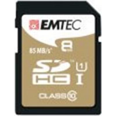 Emtec Gold Plus SDHC UHS-I U1 85MB/s 8GB