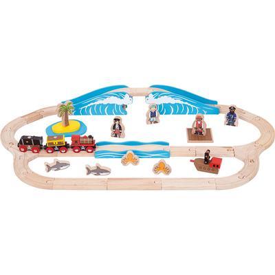 Bigjigs Pirate Train Set