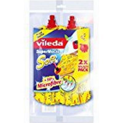 Vileda SuperMocio Soft Microfibre Refill 2-pack