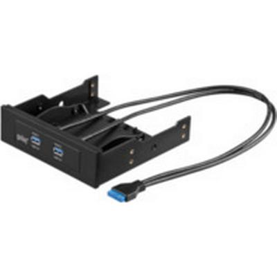 MicroConnect USB3SLOT1 2-Port USB 3.0/3.1 Intern