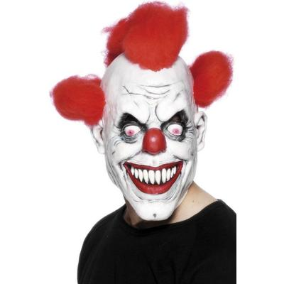 Smiffys Halloween Clown 3/4 Mask