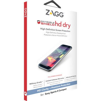 Zagg InvisibleShield HD Dry Skærmbeskytter (Xperia X Compact)