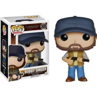 Funko Pop! TV Supernatural Bobby Singer