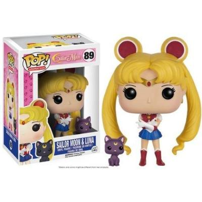 Funko Pop! Animation Sailor Moon Sailor Moon with Luna