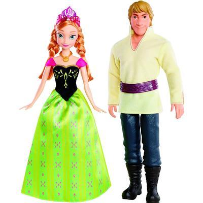 Mattel Disney Frozen Anna & Kristoff Doll
