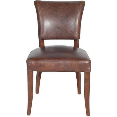 Artwood Mimi Vintage Leather Cigar Dining Chair