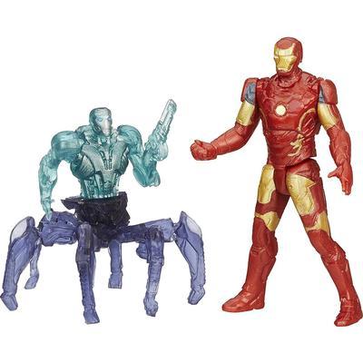 Hasbro Marvel Avengers Age of Ultron Iron Man Mark 43 vs Sub Ultron 001 Figure Pack B1482