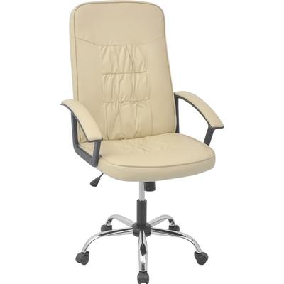 vidaXL 20127 Leather Office Chair Karmstol, Kontorsstol