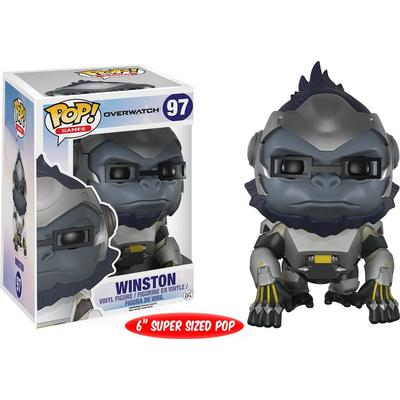 Funko Pop! Games Overwatch Winston 6""