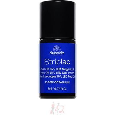 Alessandro Striplac Nail Polish Striplac #193 Deep Ocean Blue 8ml