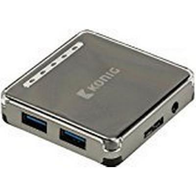 König CSU3H4P100 4-Port USB 3.0/3.1 Extern