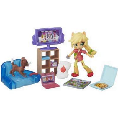 Hasbro My Little Pony Equestria Girls Minis Applejack Slumber Party Games Set B6040
