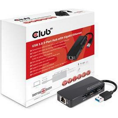 Club 3D CSV-1430 3-Port USB 3.0/3.1 Extern
