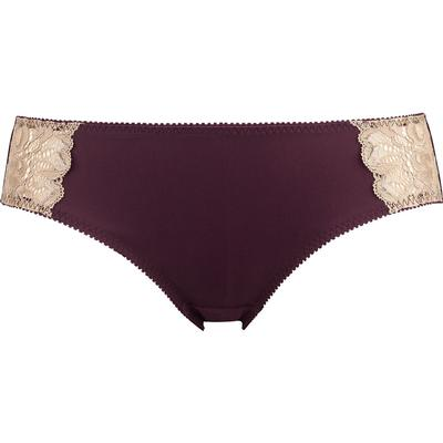 Abecita Glitter Brief Thong Wine Red/Gold (165089 490 38)