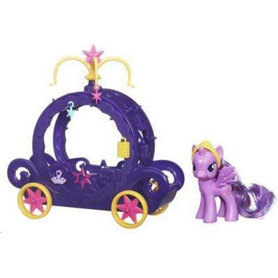 Hasbro My Little Pony Princess Twilight Sparkle Charm Carriage B0359