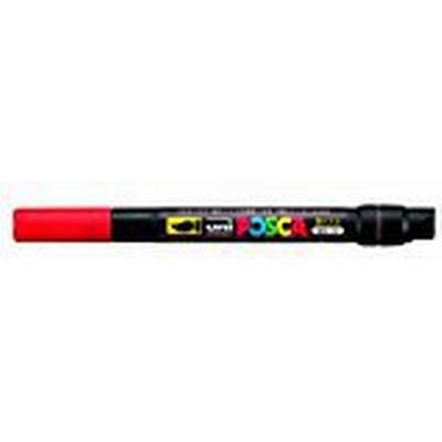 Uni Posca PCF-350 Paint Brush Marker Red