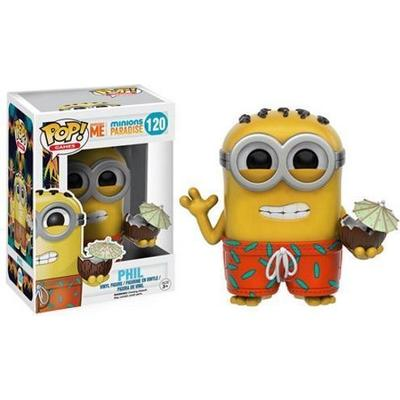 Funko Pop! Games Minions Paradise Phil