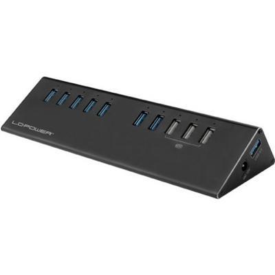 Lc Power LC-HUB-ALU-2B-10 10-Port USB 3.0/3.1 Extern