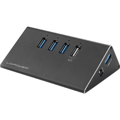 Lc Power LC-HUB-ALU-2B-4 4-Port USB 3.0/3.1 Extern