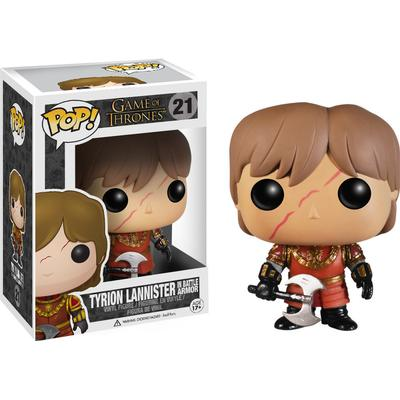 Funko Pop! TV Game of Thrones Tyrion Lannister with Scar Battle Armour