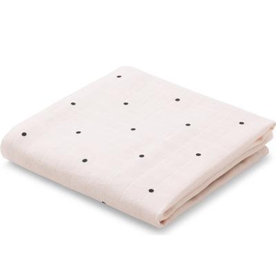 Liewood Hannah Muslin Cloth Classic Dot Print 2-Pack