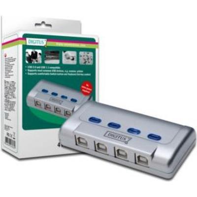 Digitus Digitus DA-70136-1 4-Port USB 2.0 Extern