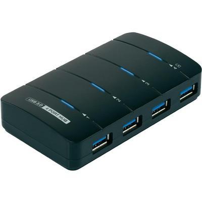 Renkforce 1005584 4-Port USB 3.0/3.1 Extern