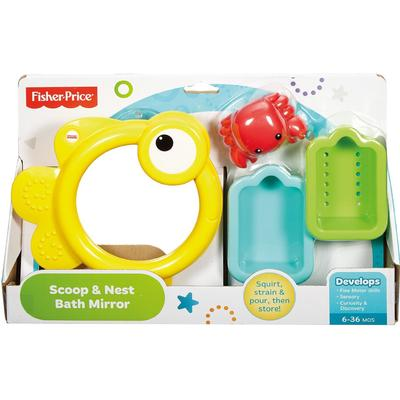 Fisher Price Scoop & Nest Bath Mirror