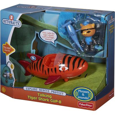 Fisher Price Talking Tiger Shark Gup B