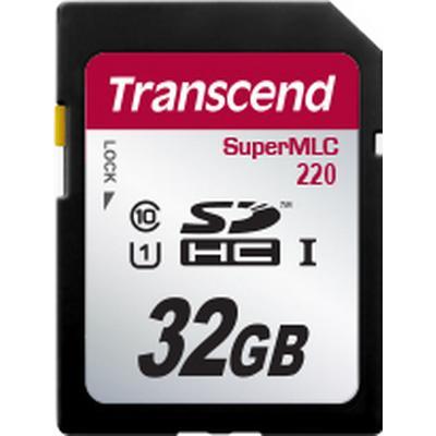 Transcend SuperMLC SDHC220 UHS-I 95MB/s 32GB