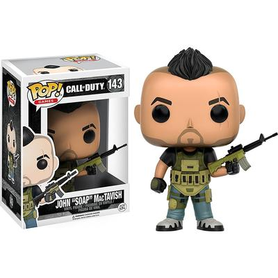 Funko Pop! Games Call of Duty John Soap MacTavish
