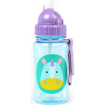 Skip Hop Zoo Straw Bottle Eureka Unicorn