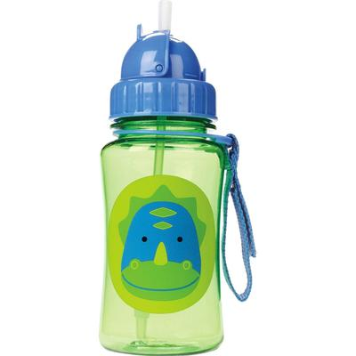 Skip Hop Zoo Straw Bottle Dinosaur